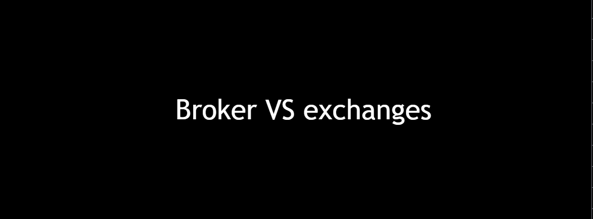 broker of exchange?